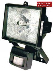 Halogén fényvető 500W mozgásérzékelővel fekete (reflektor)