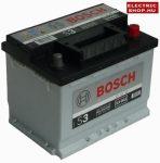 Bosch S3 12V 56Ah Jobb+ akkumulátor
