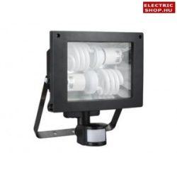 Kompakt fénycsöves fényvető mozgásérzékelős TOMI ST161A 2xE27 (energiatakarékos reflektor)