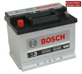 Bosch S3 12V 56Ah Bal+ akkumulátor
