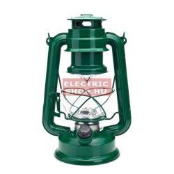 Retro viharlámpa 15 LED zöld