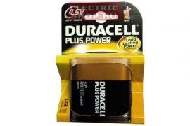 Duracell PLUS POWER alkáli elem 3R12 (lapos elem) tartós