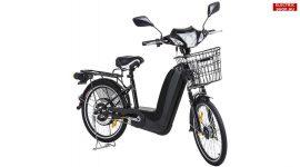 Plus 2016 fekete 36V 12Ah elektromos kerékpár