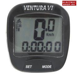 Kerékpár kilóméteróra Ventura 6 funkciós