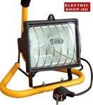Halogén fényvető hordozható 500W (reflektor)