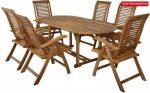 HECHT CAMBERET SET kerti asztal és szék garnitúra szett