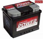 Electric Power 12V 60Ah Jobb+ akkumulátor