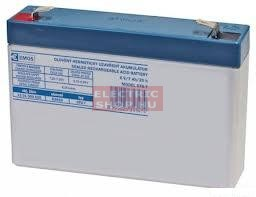 6V 7Ah zselés zárt EMOS gondozásmentes szünetmentes VRLA akkumulátor