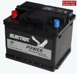 Electric Power 12V 45Ah Bal+ akkumulátor (Kalos akkumulátor)
