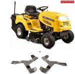 Riwall RLT 92 T POWER KIT Fűnyíró traktor 92 cm, fűgyűjtővel és 6-fokozatú Transmatic váltóval, Riwall PRO