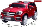 Hecht Mercedes Benz GL63 Red
