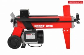 Hecht 637 vízszintes rönkhasító hidraulikus tűzifa hasogató gép 1500W