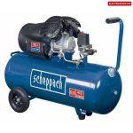 Scheppach HC 100 DC olajkenésű kéthengeres kompresszor elektromos 230 V 5906120901